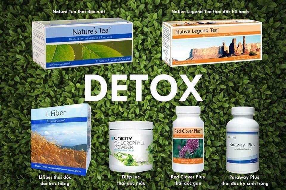 Dinh dưỡng dược thải độc cơ thể - Bình Giang Royal Team